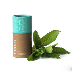 Mint - natural deodorant, sodafree