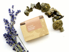 luxury cape aloe soap from aloe ferox resin and lavender essential oil