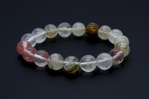 Mixed Quartz Crystal Bracelet | Yoga Mala