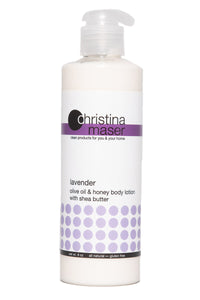 Lavender Olive Oil & Honey Lotion by Christina Maser Co.