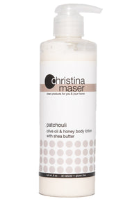 Patchouli Olive Oil & Honey Lotion by Christina Maser Co.