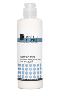 Rosemary Mint Olive Oil & Honey Lotion by Christina Maser Co.