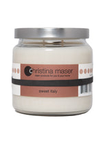 Load image into Gallery viewer, Christina Maser Co. Sweet Italy Soy Wax Candle 16 oz glass jar.