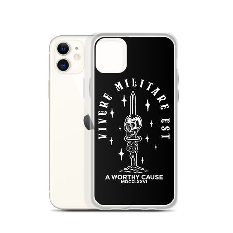 To Live is to Fight iPhone Case