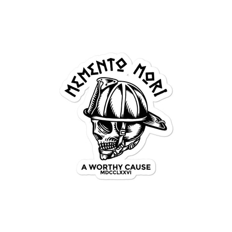 Momento Mori Firefighter Sticker