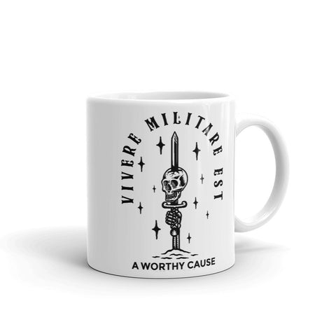 To Live is to Fight Mug