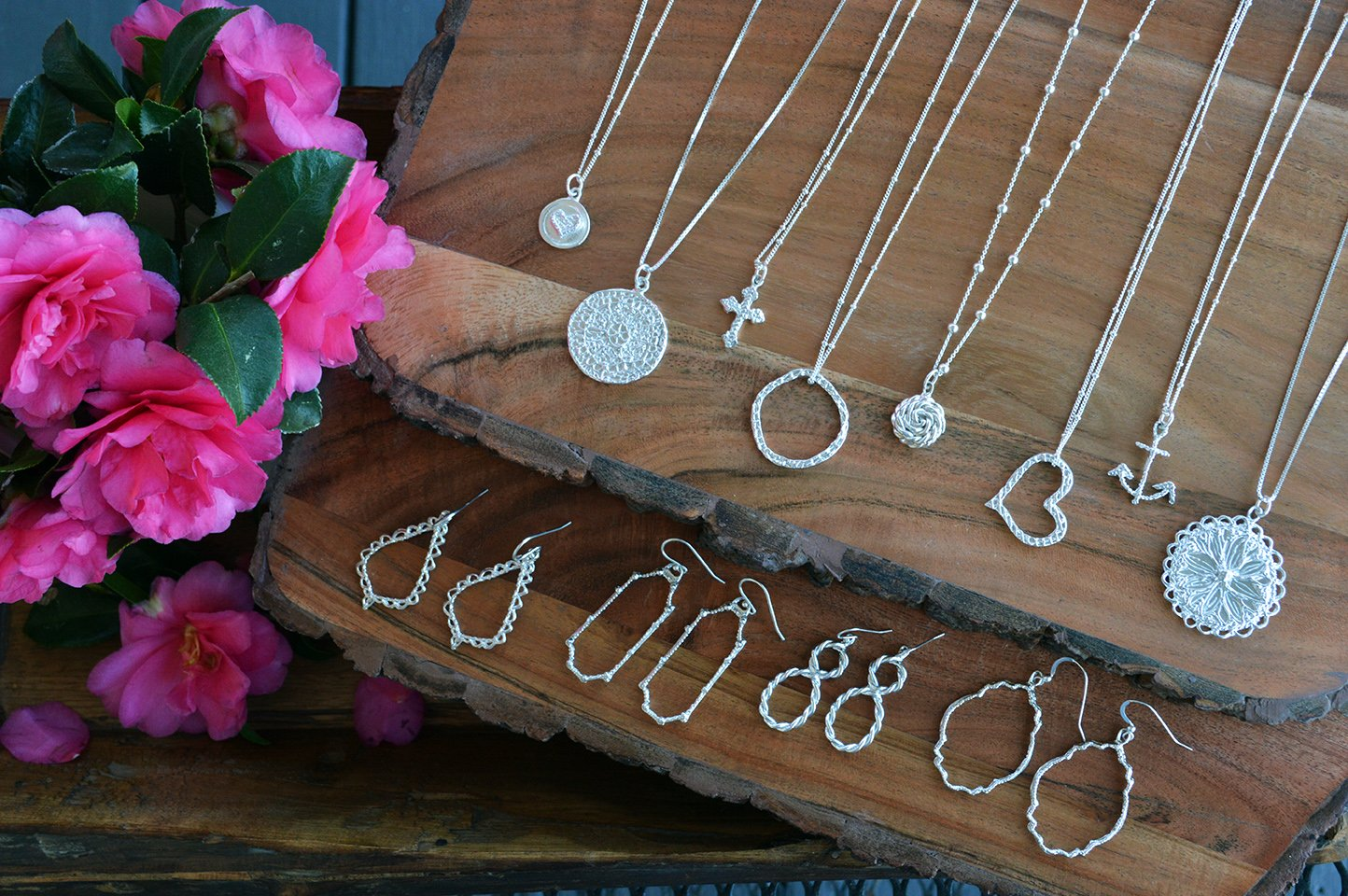 Crossing 413, jewelry, handmade, made in the south