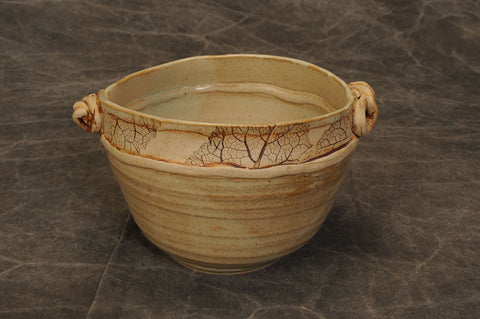 Beautiful hand thrown bowl