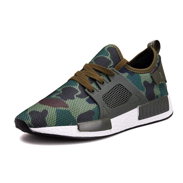 Men's Breathable Camouflage Sneaker - The Updated Ones