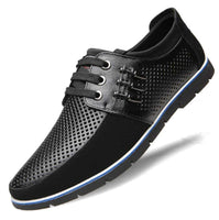 Men's Two Tone Lace Up Casual Shoes - The Updated Ones