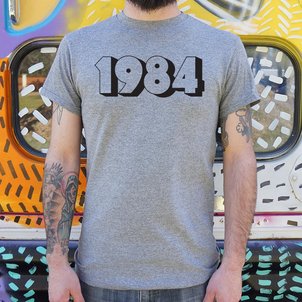 1984 T-Shirt | Men's Short Sleeve Graphic Shirts - The Updated Ones