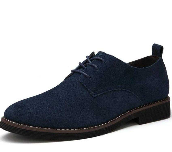 Men's Casual Daily Wear Breathable Oxford Lace up Shoes - The Updated Ones