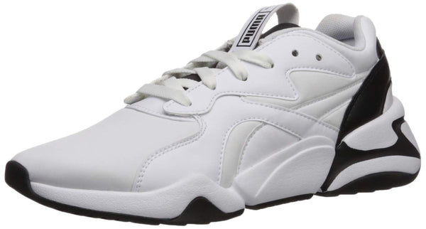 PUMA Women's NOVA Sneaker, White Black, 5.5 M US - The Updated Ones