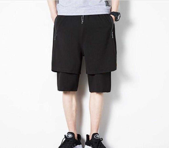 Mens Double Layer Shorts - The Updated Ones
