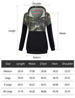 Blevonh Aztec Sweaters for Women,Boutique Clothing Ladys Long Sleeve Floral Print Pullover Hood Sweat Shirts Lady 1/4 Zip-Up Plus-Size Pouch Thin Flattering Tops Hoodey Green XL - The Updated
