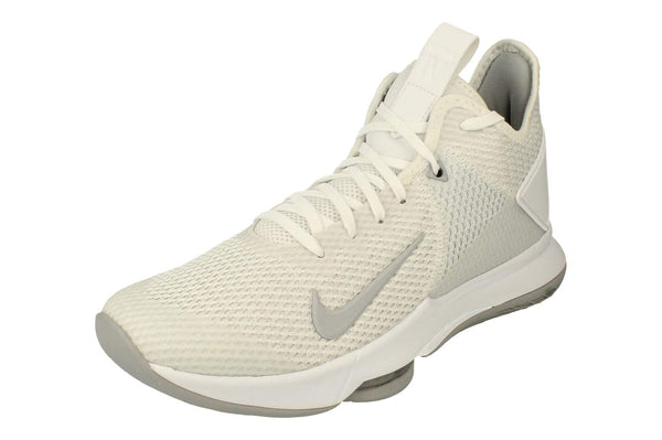 Nike Lebron Witness IV TB Mens Basketball Trainers CV4004 Sneakers Shoes (UK 7 US 8 EU 41, White Wolf Grey pre Platinum 100) - The Updated Ones