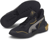 PUMA Women's Provoke XT Cross Trainer, Black Team Gold, 5.5 - The Updated Ones
