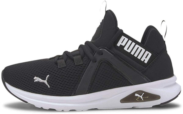 PUMA Women's Enzo 2 Cross Trainer, Black White, 5.5 M US - The Updated Ones