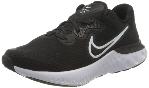 Nike Men's Stroke Running Shoe, Black White Dk Smoke Grey, 8 us - The Updated Ones
