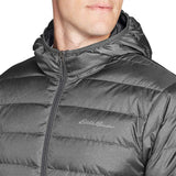 Eddie Bauer Men's CirrusLite Down Hooded Jacket, Dk Smoke Regular L - The Updated Ones