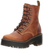 Dr. Martens Women's Leona Fashion Boot, Butterscotch Orleans, 6 - The Updated Ones
