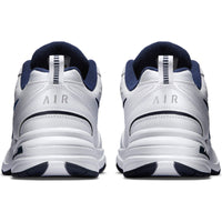 Nike Men's Air Monarch IV Cross Trainer, White/Metallic Silver/Midnight Navy, 9 XW US - The Updated Ones