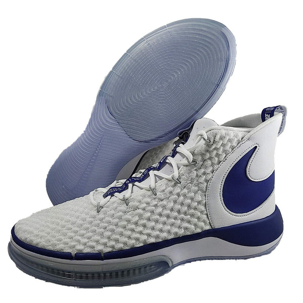 Nike Alphadunk Flyknit CN9491-101 White-Navy Men's Basketball Sneakers 14 US - The Updated Ones