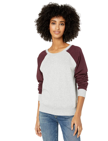 UGG Women's Elisha Crewneck, Seal Port Heather, X-Large - The Updated Ones