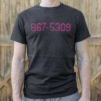 867-5309 T-Shirt | Short Sleeve Graphic Tee - The Updated Ones