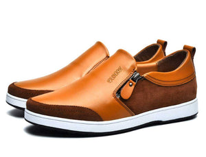 Men's Slip On Shoes with Side Zipper - The Updated Ones