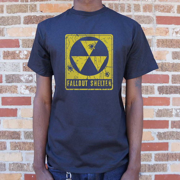 Fallout Shelter T-Shirt | Short Sleeve Graphic Tee - The Updated Ones