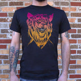Lion-el Rich-eyes T-Shirt | Short Sleeve Graphic Tee - The Updated Ones