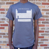 Periodic Table T-Shirt | Short Sleeve Graphic Tee - The Updated Ones