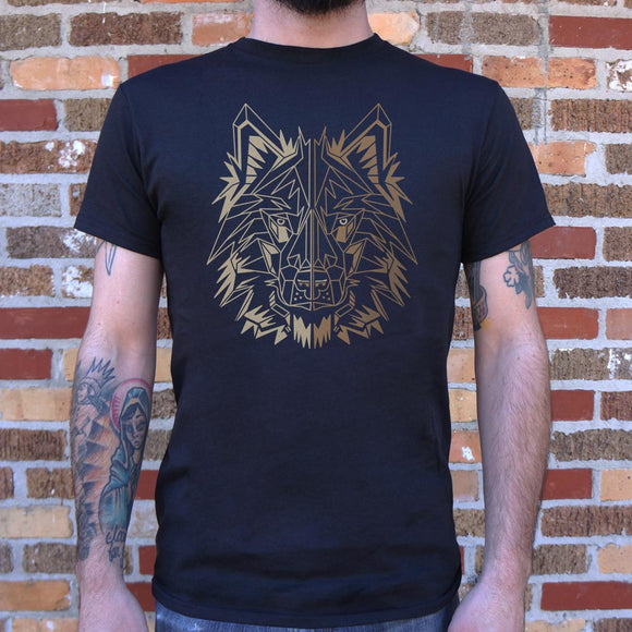 Polygon Wolf T-Shirt | Men's Short Sleeve Graphic Shirts - The Updated Ones