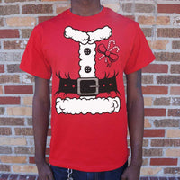 Santa Costume T-Shirt | Short Sleeve Graphic Tee - The Updated Ones