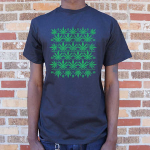 Sweet Leaf Ugly Sweater T-Shirt | Short Sleeve Graphic Tee - The Updated Ones