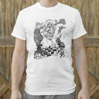 Alice In Wonderland T-Shirt | Short Sleeve Graphic Tee - The Updated Ones