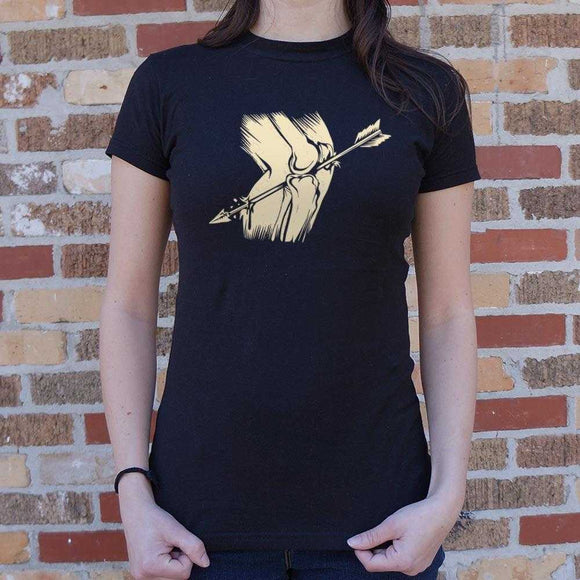 Arrow In The Knee T-Shirt | Women's Short Sleeve Top - The Updated Ones