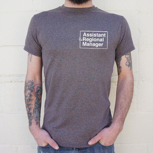 Assistant To The Regional Manager T-Shirt | Men's Short Sleeve Graphic Shirts - The Updated Ones