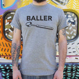 Baller T-Shirt | Short Sleeve Graphic Tee - The Updated Ones