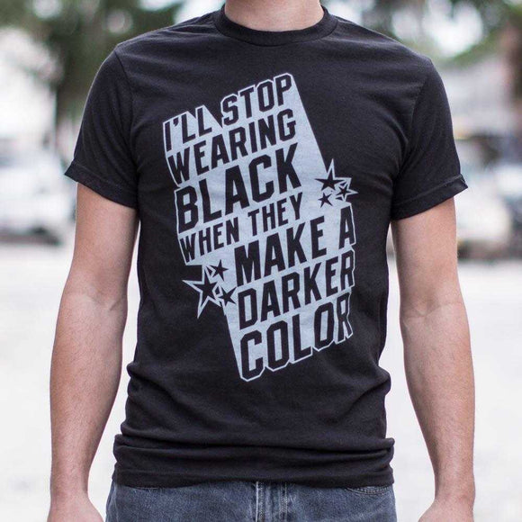 Stop Wearing Black T-Shirt | Short Sleeve Graphic Tee - The Updated Ones