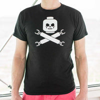 Plastic Block Pirates T-Shirt | Short Sleeve Graphic Tee - The Updated Ones