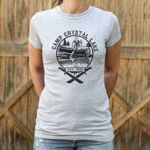 Camp Crystal Lake T-Shirt | Women's Short Sleeve Top - The Updated Ones
