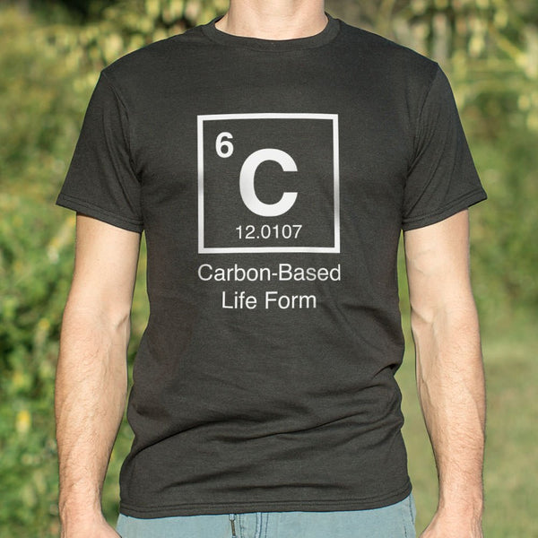 Carbon-Based Life Form T-Shirt | Short Sleeve Graphic Tee - The Updated Ones