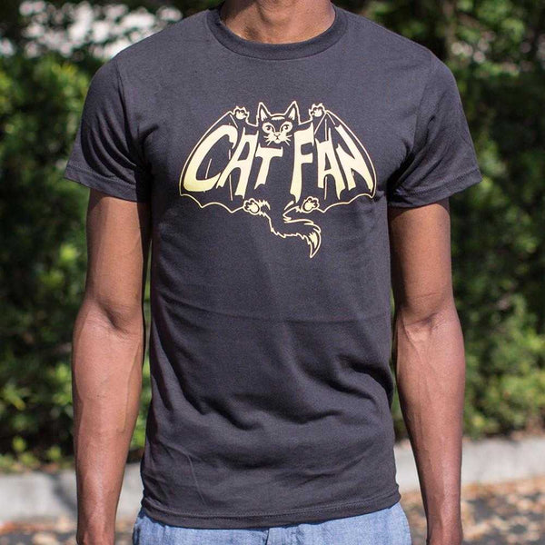Cat Fan T-Shirt | Short Sleeve Graphic Tee - The Updated Ones