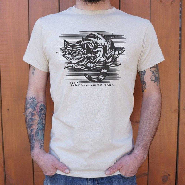 Cheshire Cat Madness T-Shirt | Short Sleeve Graphic Tee - The Updated Ones