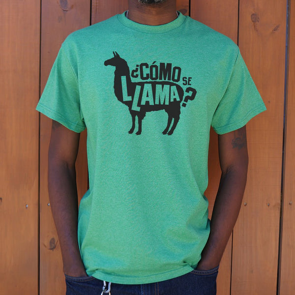 Como Se Llama T-Shirt | Short Sleeve Graphic Tee - The Updated Ones