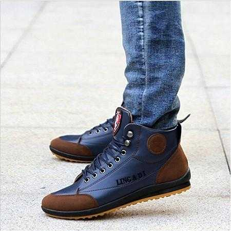 Men's Leisure Lace Up Sneaker Boots - The Updated Ones