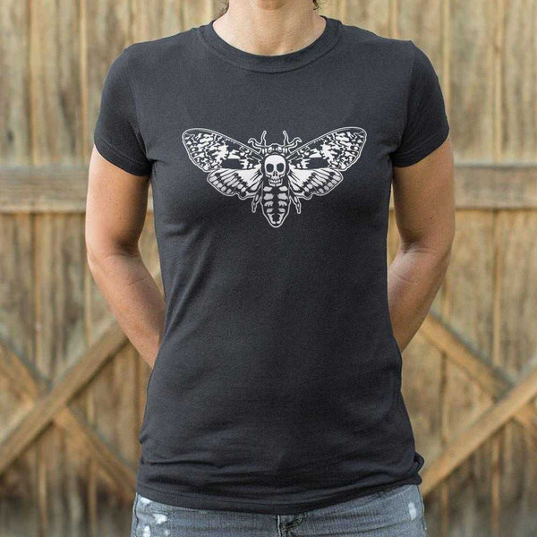 Death's Head Moth T-Shirt | Women's Short Sleeve Top - The Updated Ones