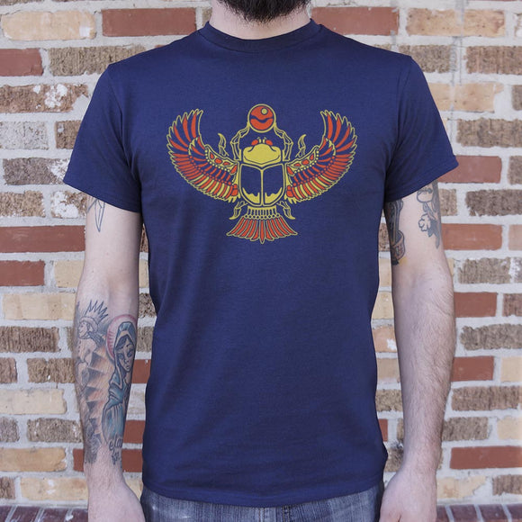 Desert Scarab T-Shirt | Men's Short Sleeve Graphic Shirts - The Updated Ones